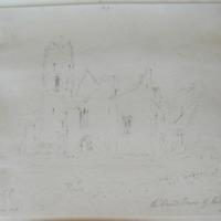 The Round Tower of Kilmallock Co. Limerick. Geo V Du Noyer