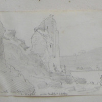 Buttermilk Castle, Co. Wexford; on the Waterford estuary