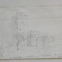 Castle near Bridgetown, on road to Kilmore, Co. Wexford