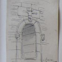 Donaghmore Round Tower. Navan June 1859