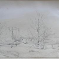 Castletown castle, Dundalk, April 1849