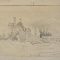 Castlejordan Co. Meath. 30 July 1859. from the ?wood