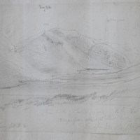 Glen south of Castlegregory looking West May 1857 Kerry Sheet 36 3