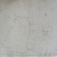 Athassel Abbey Co. Tipperary. Golden [scaled plan]
