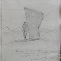 Standing stone townland of Ballywellan… Co. Waterford Sheet 26/1. NW Corner