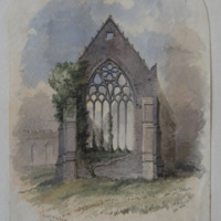East Window, Youghal Collegiate Church, 15th Century, G.V. Nov 1851