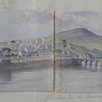 Killaloe from the Railroad; Killaloe from the Bird Hill road, April 1862