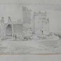the Castle of Slade, Hook, Co. Wexford, April 1850