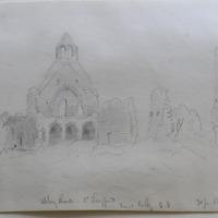 Abbeyshrule Co. Longford. View looking S.E. 31 June 1864