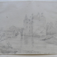 Carrickdrohid Castle; Co. Cork; Aug 1854