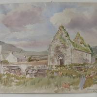 Kilmalkedar Old Church Co. Kerry July 1856
