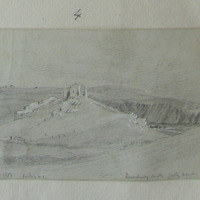 Dundeady Castle Galley Head Oct 1853 looking NE