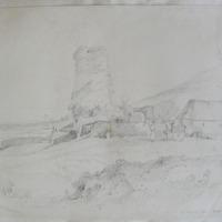 Derrinlaur Castle. Near Clonmel, Geo. V Du Noyer Delt. Oct 1840