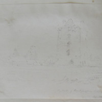 Castle of Knockgraffon Co. Tipperary. Sept 1840
